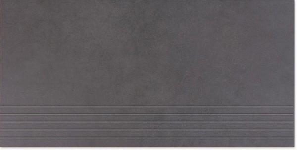 Agrob Buchtal Concrete Graphit Stufe 30x60 R9 Art.-Nr.: 059732