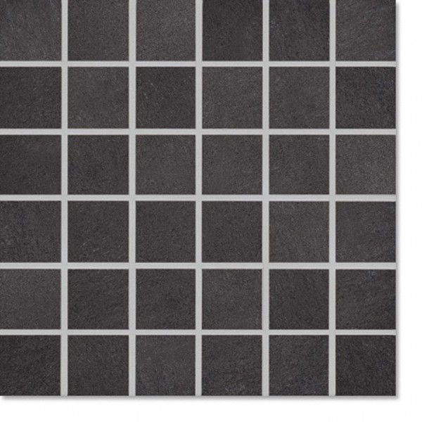 Agrob Buchtal Xeno Schwarz Mosaikfliese 30x30 R10 B