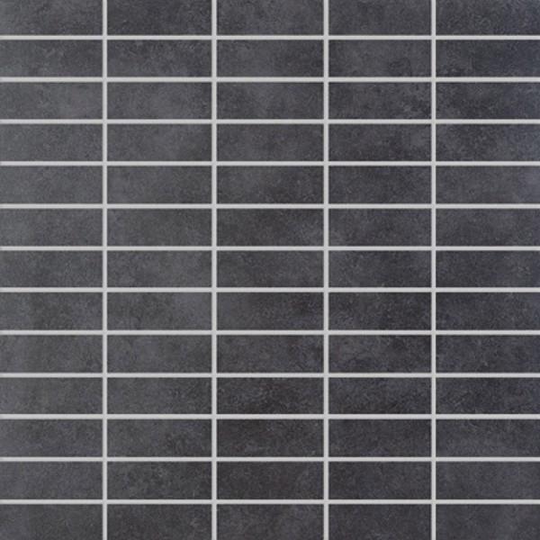 Agrob Buchtal Riva Flatile Anthrazit Mosaikfliese 30x30 Art.-Nr. 3012-22741K