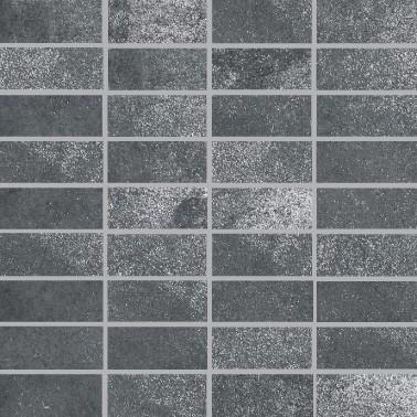 Villeroy & Boch Fire & Ice Steel Grey Mosaikfliese 3,3x7,5 R9/A Art.-Nr. 2411 MT20