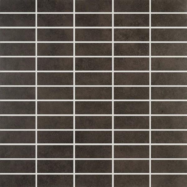 Agrob Buchtal Riva Flatile Dunkelbraun Mosaikfliese 30x30 Art.-Nr. 3010-22741K