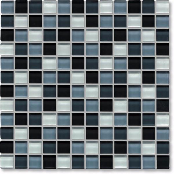Agrob Buchtal Tonic Schwarz Weissmix Glz Mosaikfliese 30x30 Art.-Nr.: 069858