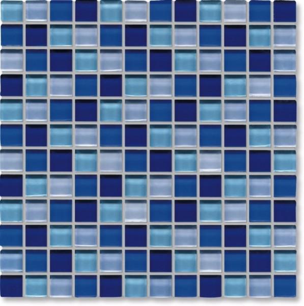 Agrob Buchtal Tonic Blaumix Mosaikfliese 30x30 Art.-Nr.: 069864