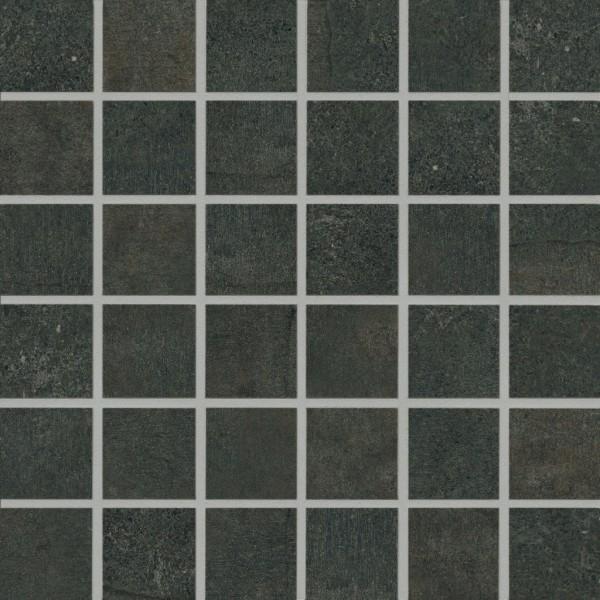 Agrob Buchtal Remix Anthrazit Mosaikfliese 5x5 R10/B Art.-Nr. 434595