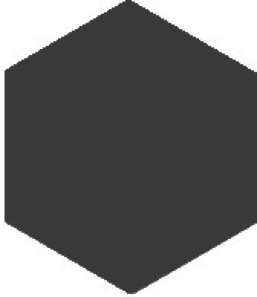 Zahna Historic Anthrazit Uni Sechseck 15x17,3/1,1 Art.-Nr.: 611151001.15