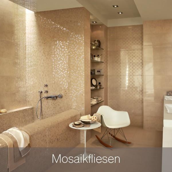 Mosaikfliesen und Glasmosaikfliesen - zur Fliesenauswahl