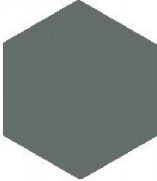 Zahna Unifarben Petrol Uni,Vergütet Sechseck 10x11,5/1,1 Art.-Nr.: 611101001.07