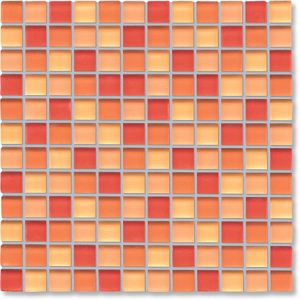 Agrob Buchtal Tonic Orangemix Mosaikfliese 30x30 Art.-Nr.: 069861