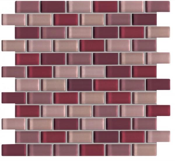 Agrob Buchtal Tonic Violettmix Mosaikfliese 30x30 Art.-Nr.: 060537