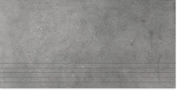 Agrob Buchtal Concrete Zementgrau Stufe 30x60 R9 Art.-Nr.: 059730