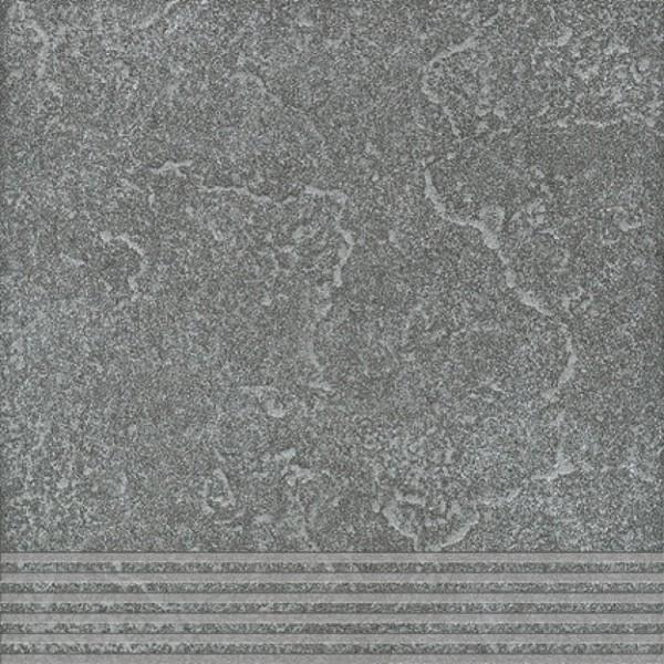 Agrob Buchtal Ancona Basaltgrau Stufe 30x30 R9 Art.-Nr.: 436497