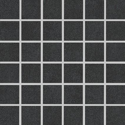 Agrob Buchtal La Casa Midnight Black Mosaikfliese 5X5(30X30) R9 Art.-Nr. 42805H
