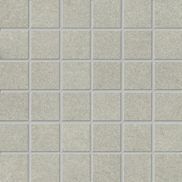 Agrob Buchtal Sierra Hellgrau Mosaikfliese 30x30 R9 Art.-Nr.: 433102