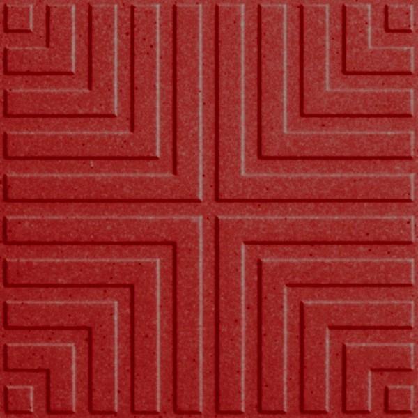 Zahna Historic Oxidrot Uni Classic Bodenfliese 15x15/1,1 Art.-Nr.: 411151687.304