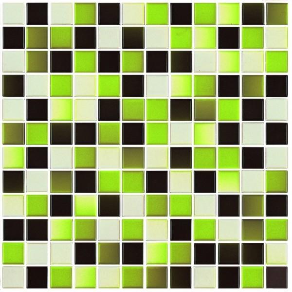Steuler S2 Pistazie Mix Mosaikfliese 2,3x2,3 Art.-Nr.: 70048