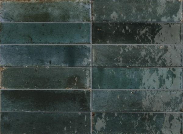 Musterfliesenstück für Marazzi Lume Blue Wandfliese 6X24/1 Art.-Nr. M6RR