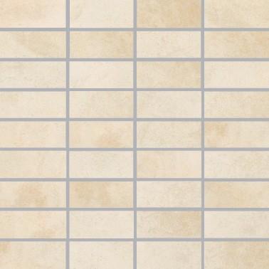 Villeroy & Boch Fire & Ice Platinum Beige Mosaikfliese 3,3x7,5 R9/A Art.-Nr. 2411 MT30
