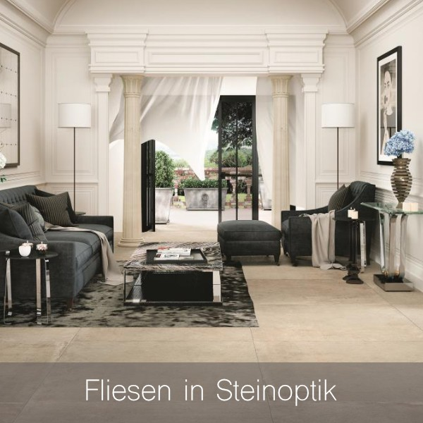 Fliesen in Steinoptik
