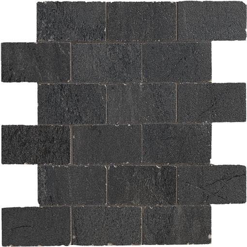 Italgraniti Up_Stone Black Muret A Spacco Mosaik 30x30 Art-Nr.: UP05MS