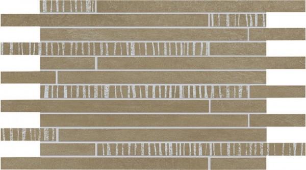 Agrob Buchtal Alcina Sola Lehmbraun Mosaikfliese 24,3X43,8/1, Art.-Nr. 283063