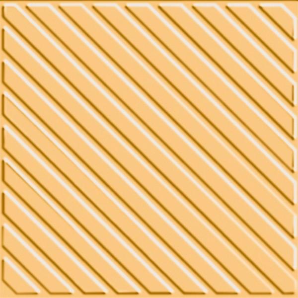 Zahna Historic Gelb Uni Ripp Bodenfliese 15x15/1,1 Art.-Nr.: 411151583.03