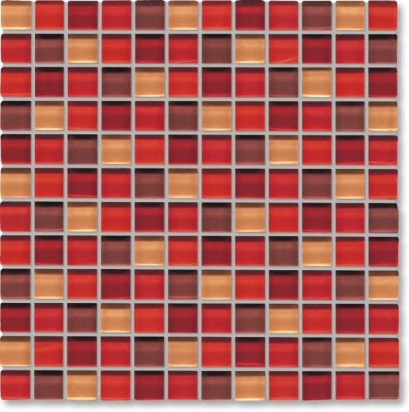 Agrob Buchtal Tonic Rotmix Mosaikfliese 30x30 Art.-Nr.: 069866