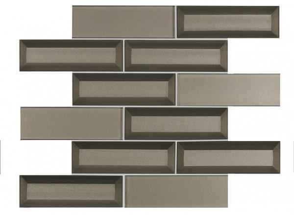 Agrob Buchtal La Casa 3d Glass Bronze Mosaikfliese 5X15(30X36) Art.-Nr.: 063042