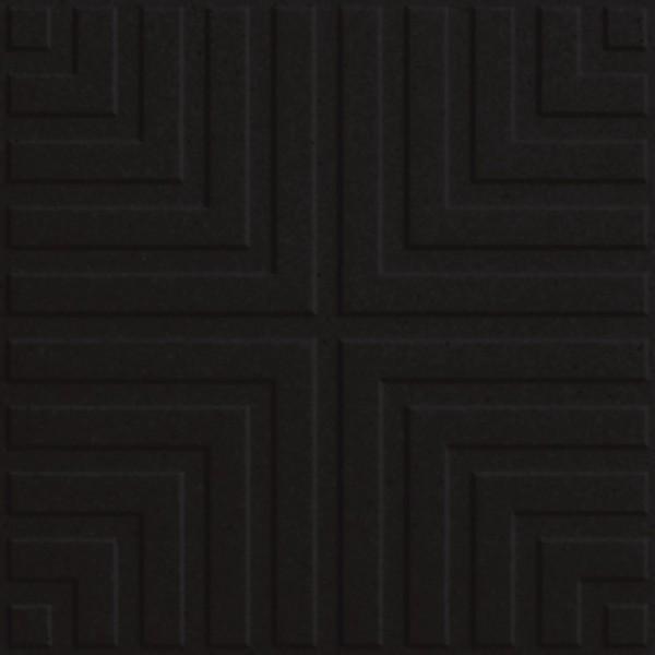 Zahna Historic Schwarz Uni Classic Bodenfliese 15x15/1,1 Art.-Nr.: 411150687.02