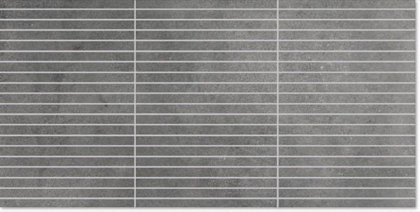 Agrob Buchtal Elements Zementgrau Mosaikfliese 1,2x19,6 Art.-Nr. 281373
