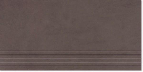 Agrob Buchtal Concrete Tabakbraun Stufe 30x60 R9 Art.-Nr.: 050436