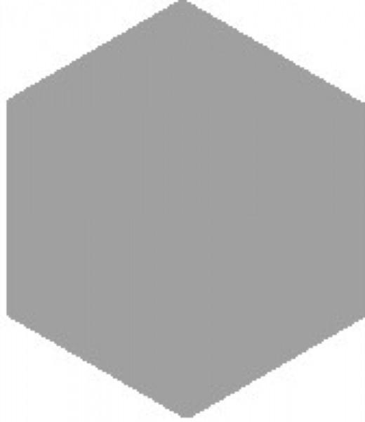 Zahna Historic Hellblau Uni Sechseck 15x17,3/1,1 Art.-Nr.: 611151001.19