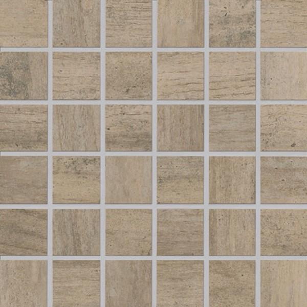 Agrob Buchtal Mandalay Hellbraun Mosaikfliese 5x5(30x30) R10/B Art.-Nr. 434499